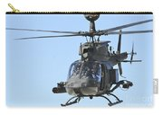 An Oh-58 Kiowa Takes Carry-all Pouch