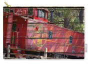 An Old Caboose  Carry-all Pouch