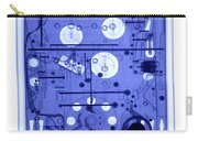 An X-ray Of A Pinball Machine Carry-all Pouch