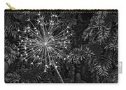 Anatomy Of A Flower Monochrome 2 Carry-all Pouch