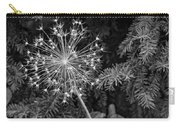 Anatomy Of A Flower Monochrome Carry-all Pouch