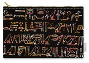 Ancient Egyptian Hieroglyphs Carry-all Pouch