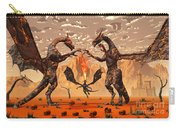 Ancient Lava Dragons Born Of Fire Carry-all Pouch