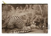 Ancient Snail Carry-all Pouch