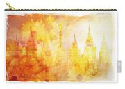 Angel Golden Carry-all Pouch by La Rae  Roberts