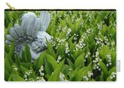 Angel In The Lilies Carry-all Pouch