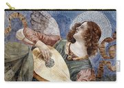 Angel With A Lute Carry-all Pouch