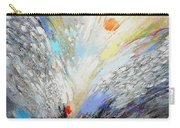 Angels Presence  - Square Painting Carry-all Pouch