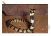 Angolan Coral Snake Defensive Display Carry-all Pouch