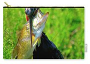 Anhinga And The Fish Carry-all Pouch