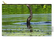 Anhinga Stabs A Fish Carry-all Pouch
