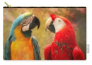 Animal - Parrot - We'll Always Have Parrots Carry-all Pouch