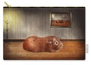 Animal - The Guinea Pig Carry-all Pouch by Mike Savad