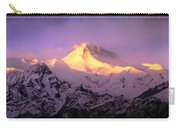 Annapurna South At Sunrise, Nepal Carry-all Pouch