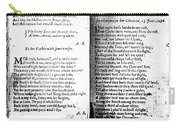 Anne Bradstreet Poems Carry-all Pouch