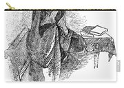 Anne Bront� (1820-1849) Carry-all Pouch by Granger