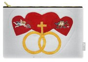 Anniversary Hearts Carry-all Pouch