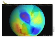 Antarctic Ozone Hole, September 2002 Carry-all Pouch