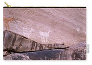 Antelope House Petroglyphs Carry-all Pouch