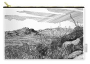 Anthony Gap New Mexico Texas Carry-all Pouch by Jack Pumphrey
