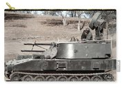 Anti-aircraft Guns Mounted On An M109 Carry-all Pouch