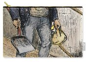 Anti-immigrant Cartoon Carry-all Pouch by Granger