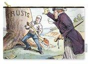 Anti-trust Cartoon, 1904 Carry-all Pouch