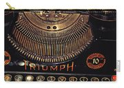 Antiquated Typewriter Carry-all Pouch