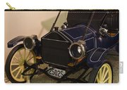 Antique Automobile With Yellow Spoke Wheels Carry-all Pouch
