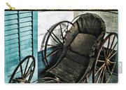 Antique Baby Carriage Carry-all Pouch