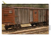 Antique Boxcar Carry-all Pouch