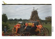 Antique Buggy In Fall Colors Carry-all Pouch