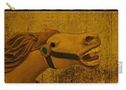 Antique Carousel Appaloosa Horse Carry-all Pouch