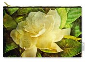 Antique Gardenia Blossom Carry-all Pouch