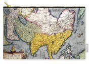 Antique Map Of Asia Carry-all Pouch