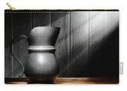 Antique Pewter Pitcher Carry-all Pouch