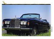 Antique Rolls Royce Carry-all Pouch