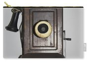 Antique Telephone Carry-all Pouch