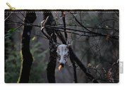 Antlers - Skull - In The Air Carry-all Pouch