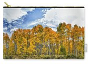 Apen Trees In Fall Carry-all Pouch