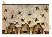 Apiculture-beekeeping-14th Century Carry-all Pouch by Science Source