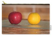 Apple And Orange Carry-all Pouch