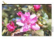 Apple Blossom Abwc Carry-all Pouch
