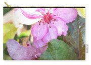 Apple Blossom II Ab2wc Carry-all Pouch