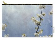 Apple Branch On A Textured Background Carry-all Pouch