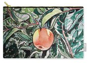 Apple Tree Sketchbook Project Down My Street Carry-all Pouch by Irina Sztukowski
