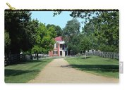 Appomattox County Court House 2 Carry-all Pouch by Teresa Mucha