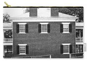 Appomattox Courthouse Carry-all Pouch by Teresa Mucha