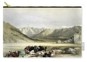 Approach To Mount Sinai Wady Barah Feby 17th 1839 Carry-all Pouch