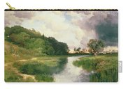 Approaching Storm Carry-all Pouch by Thomas Moran